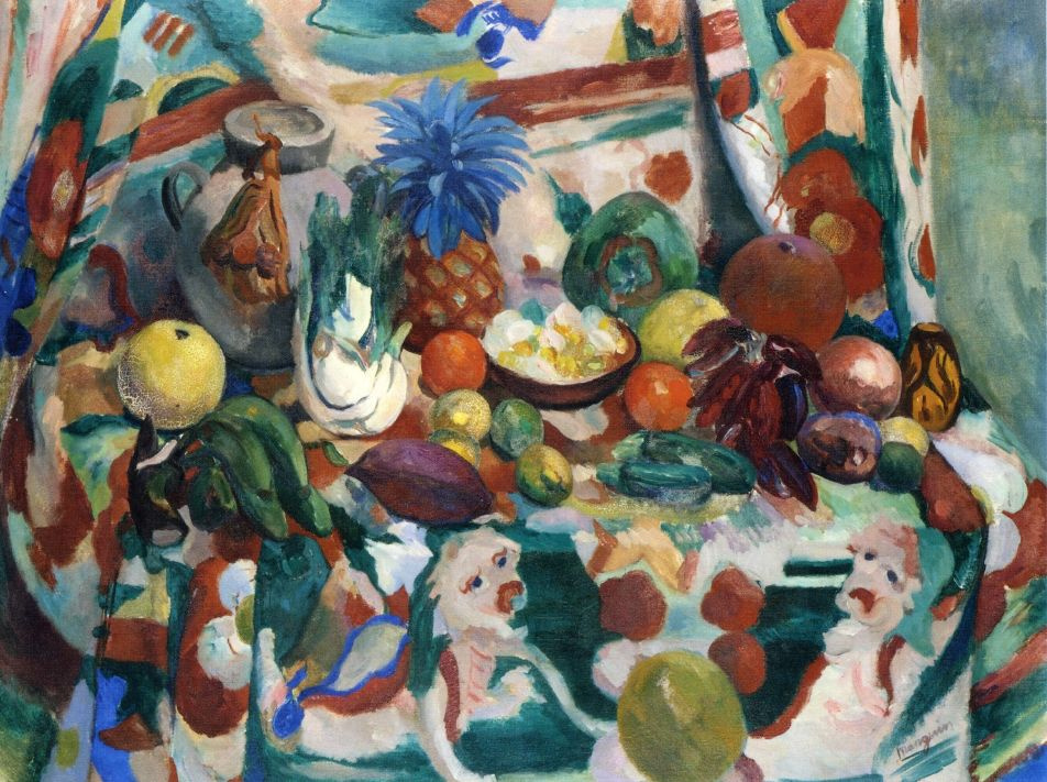 Henri Manguin. Still life with exotic fruits