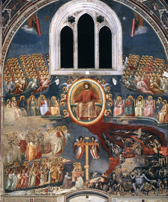 Giotto di Bondone. The Last Judgment