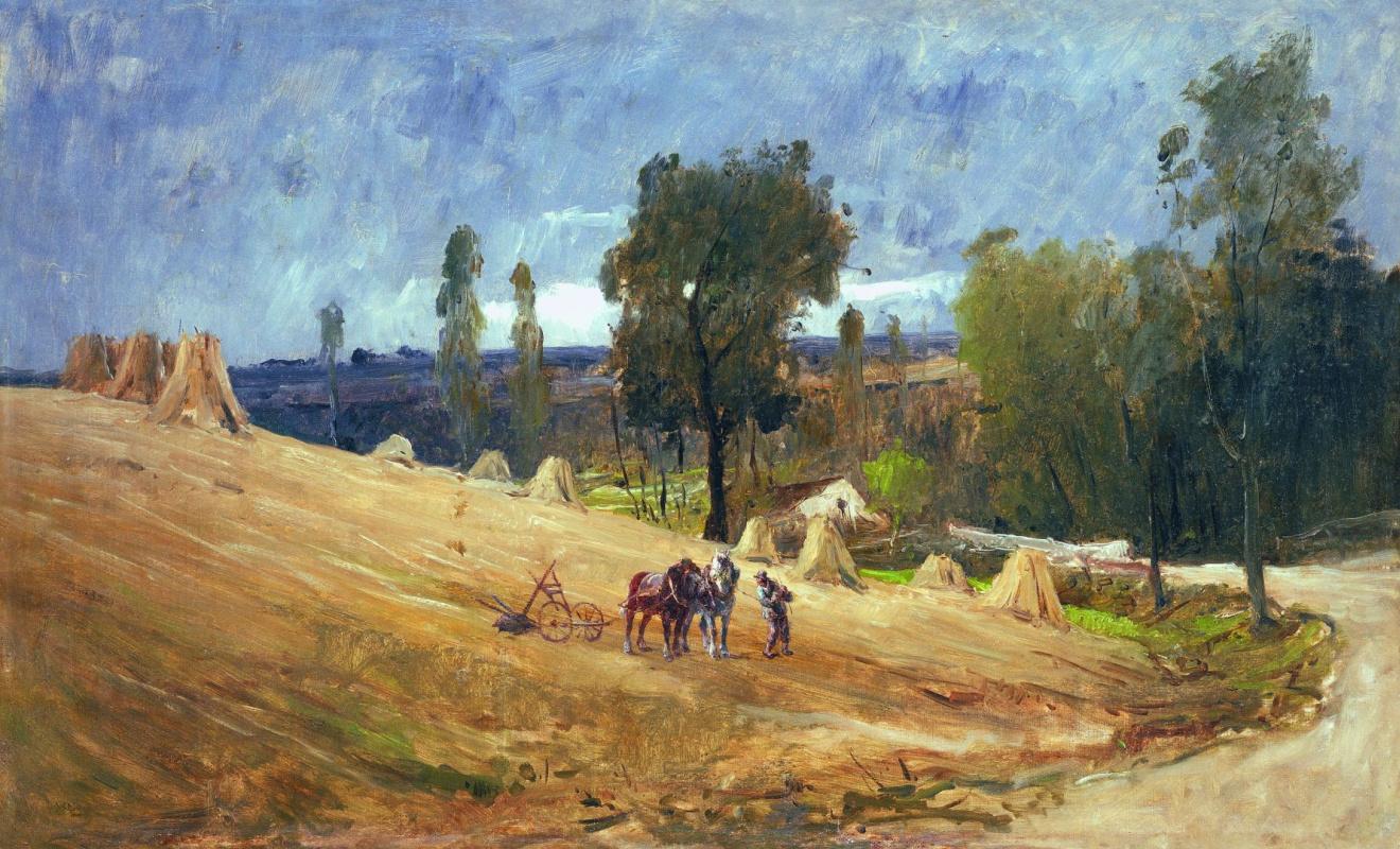 Михай Либ Мункачи. Пашущий крестьянин