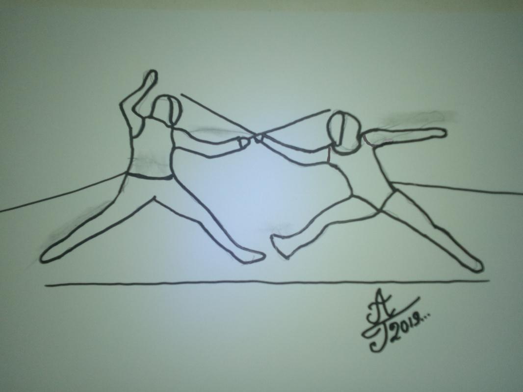 Алексей Гришанков (Alegri). Sword Fencing