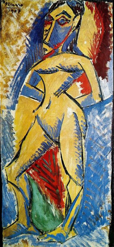 Пабло Пикассо. Стоящая обнаженная