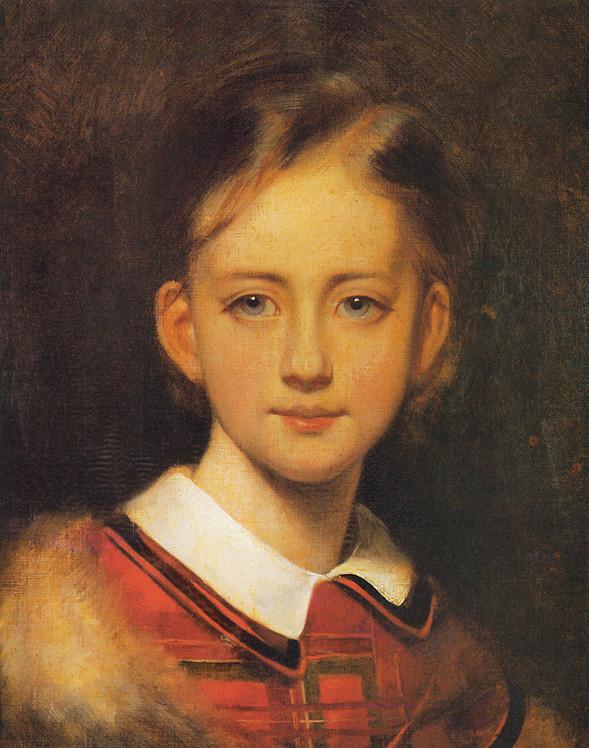 Артур Гротгер. Портрет девочки