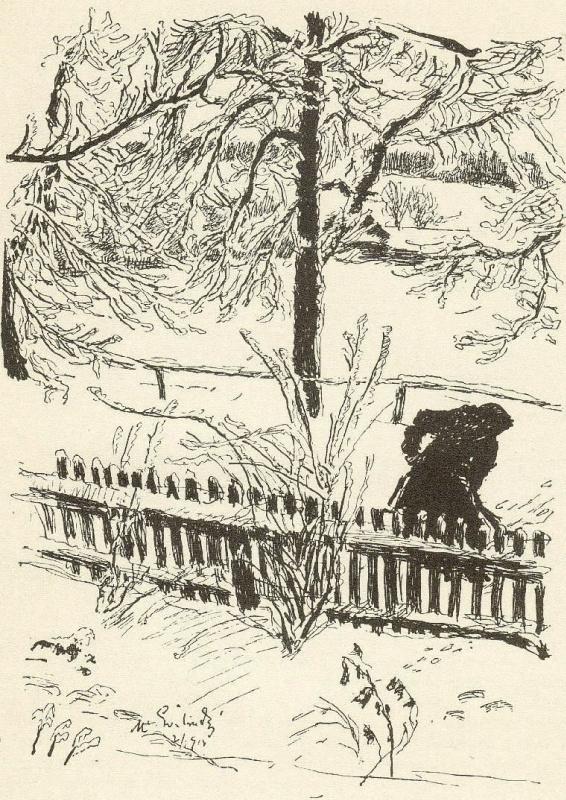 Макс Швабинский. Зима