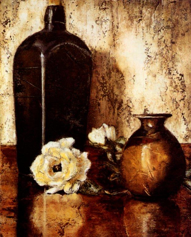 Паула Каисси. Натюрморт с белой розой