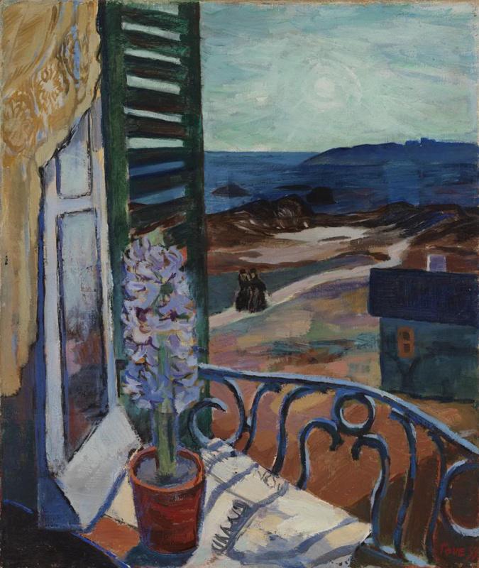 Tove Jansson. Blue hyacinth on the windowsill