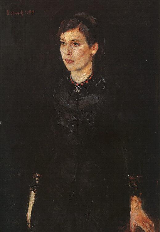 Эдвард Мунк. Сестра Ингер