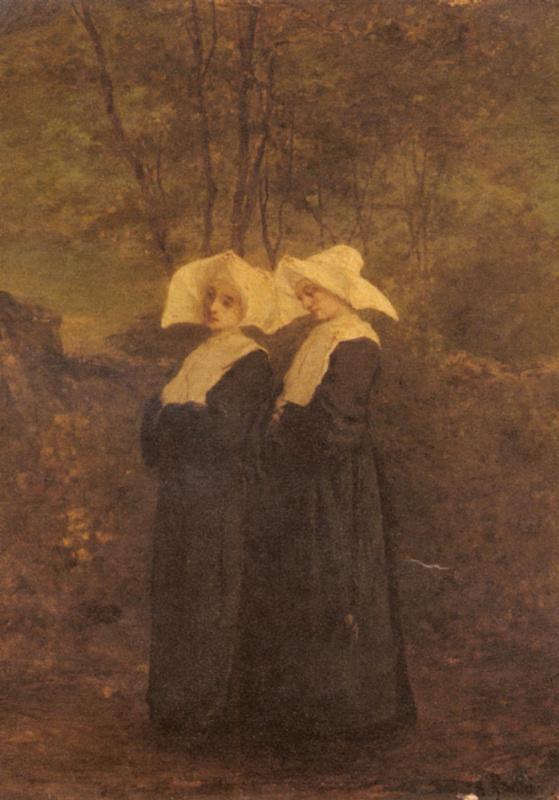 Арман Готье. Монахини