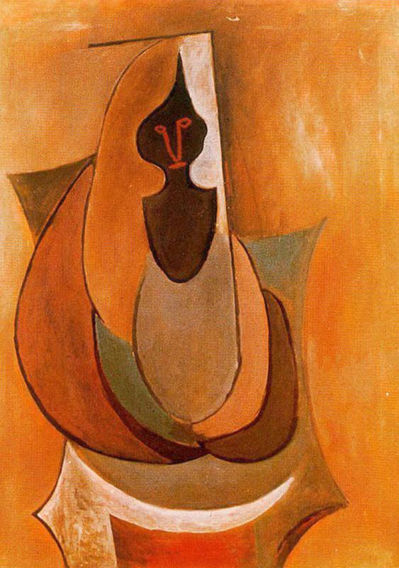 Pablo Picasso. Cubist person