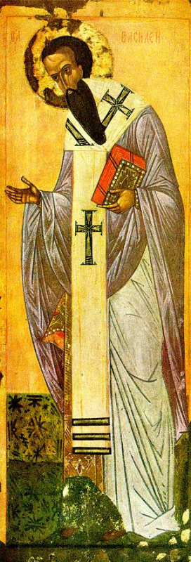 Icon Painting. St. Basil The Great