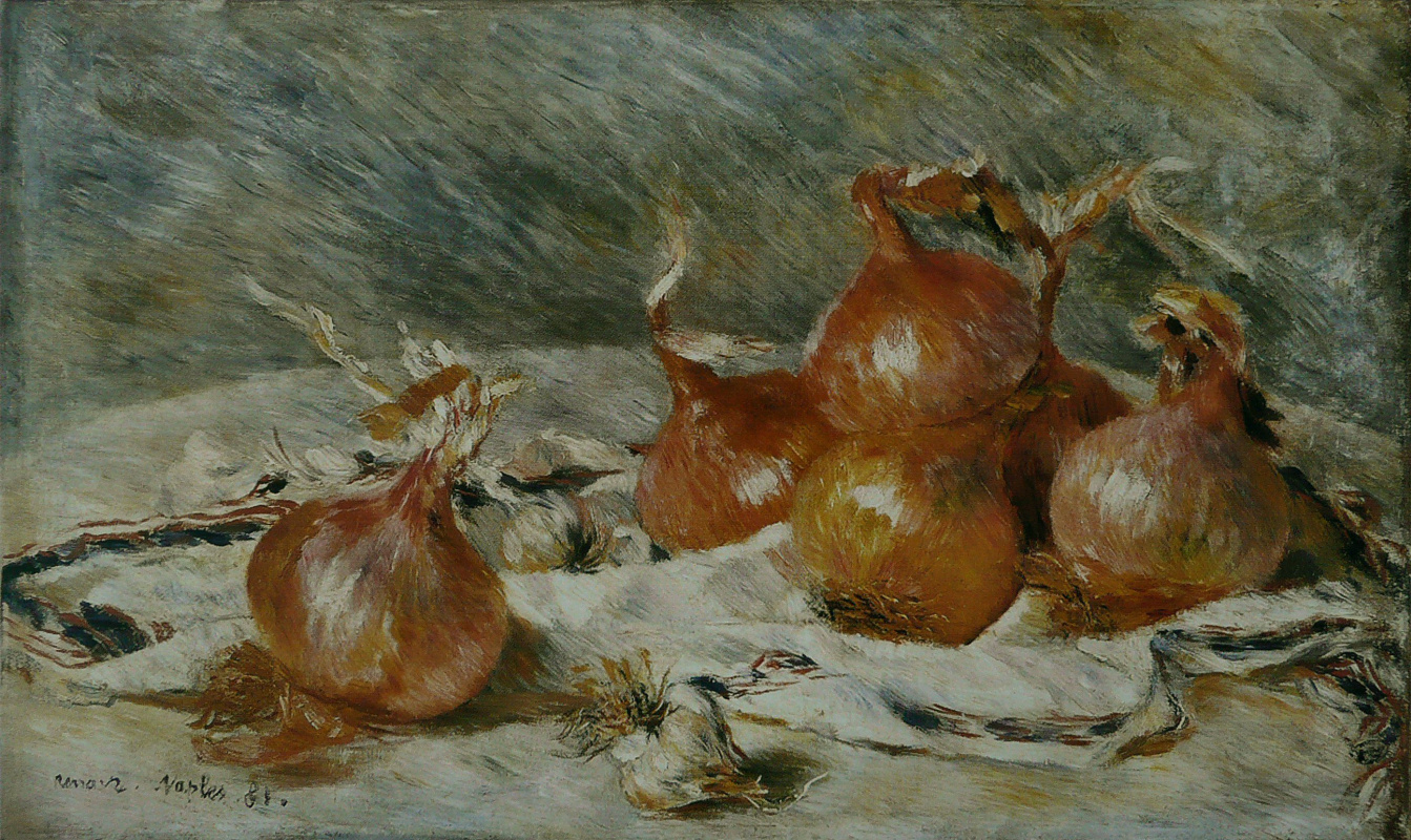 Pierre-Auguste Renoir. Bulbs