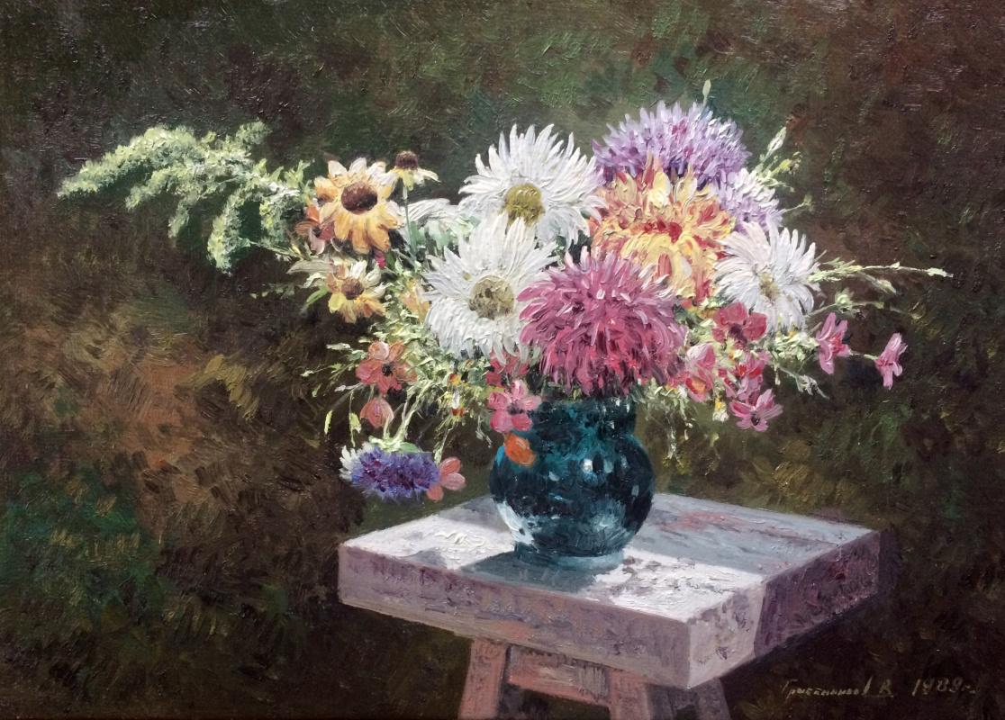 Vasily Ivanovich Gribennikov. Flowers