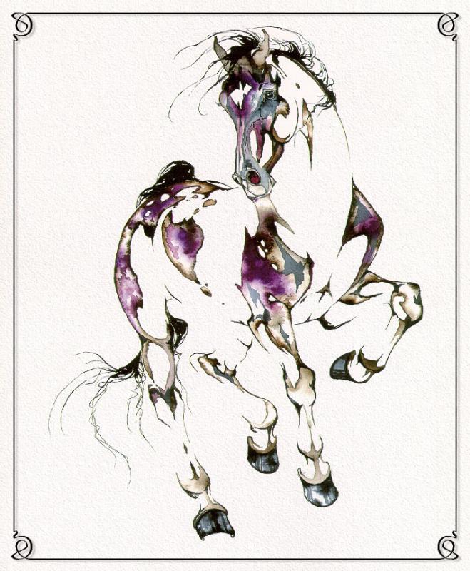 С. Л. Ричардс. Лошадь 7
