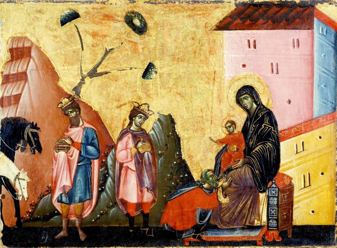 Гвидо да Сиена. Поклонение волхвов