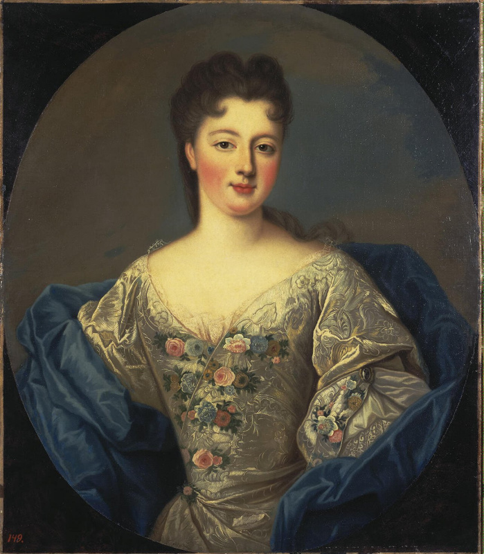 Pierre Gober. Portrait Of Louise-Adelaide D'orleans