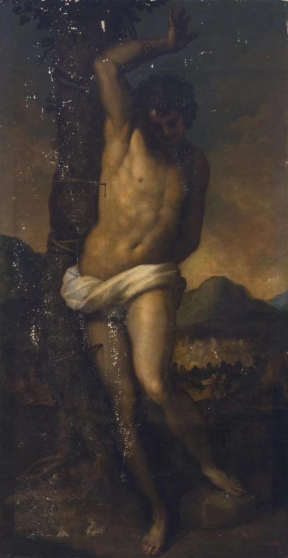 Джакомо Пальма Младший. Святой Себастьян