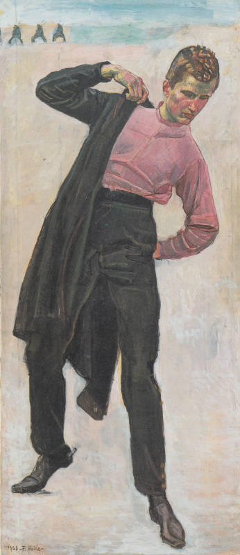 Ferdinand Hodler. The young freedom fighter