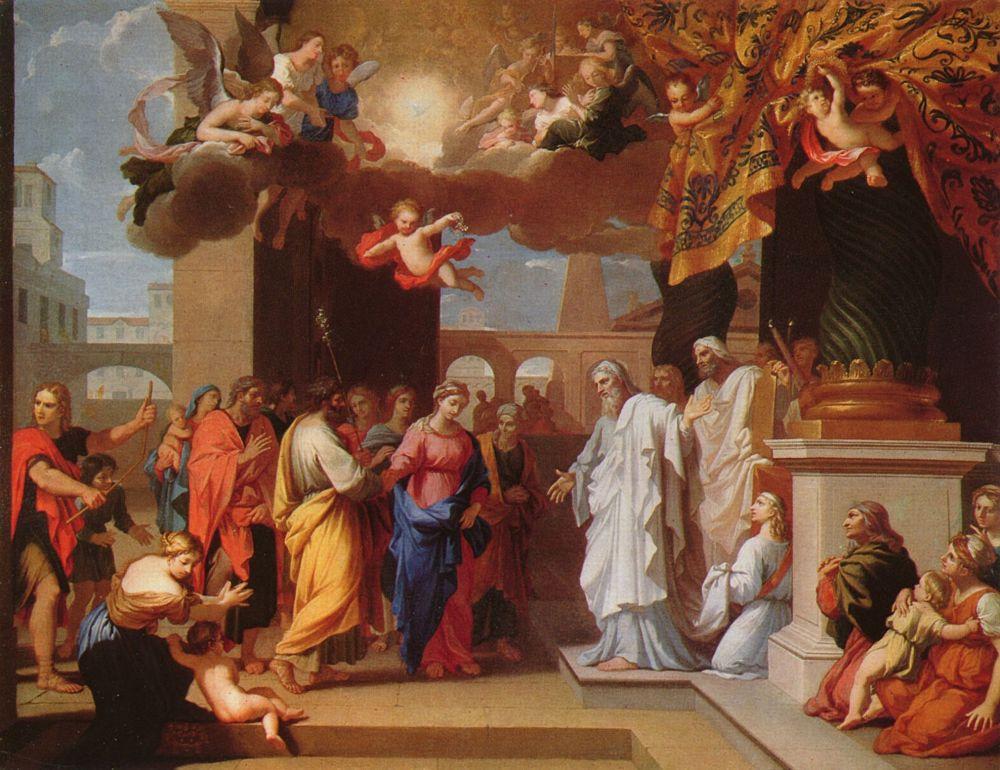 Жак Стелла. Обручение Марии