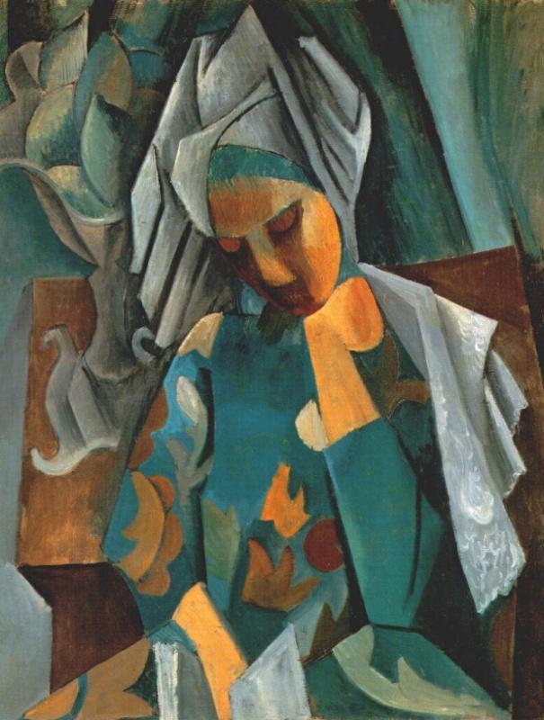Пабло Пикассо. Королева Изабо