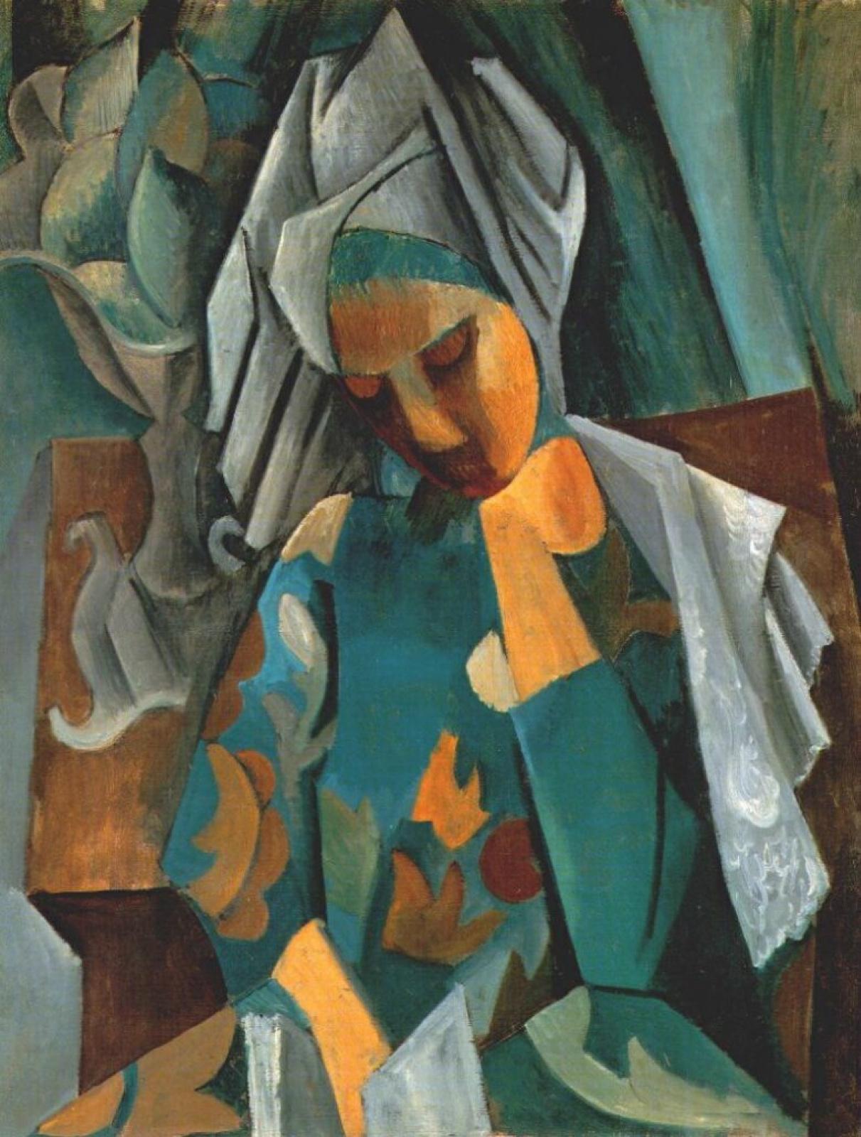 Pablo Picasso. Queen Izabo