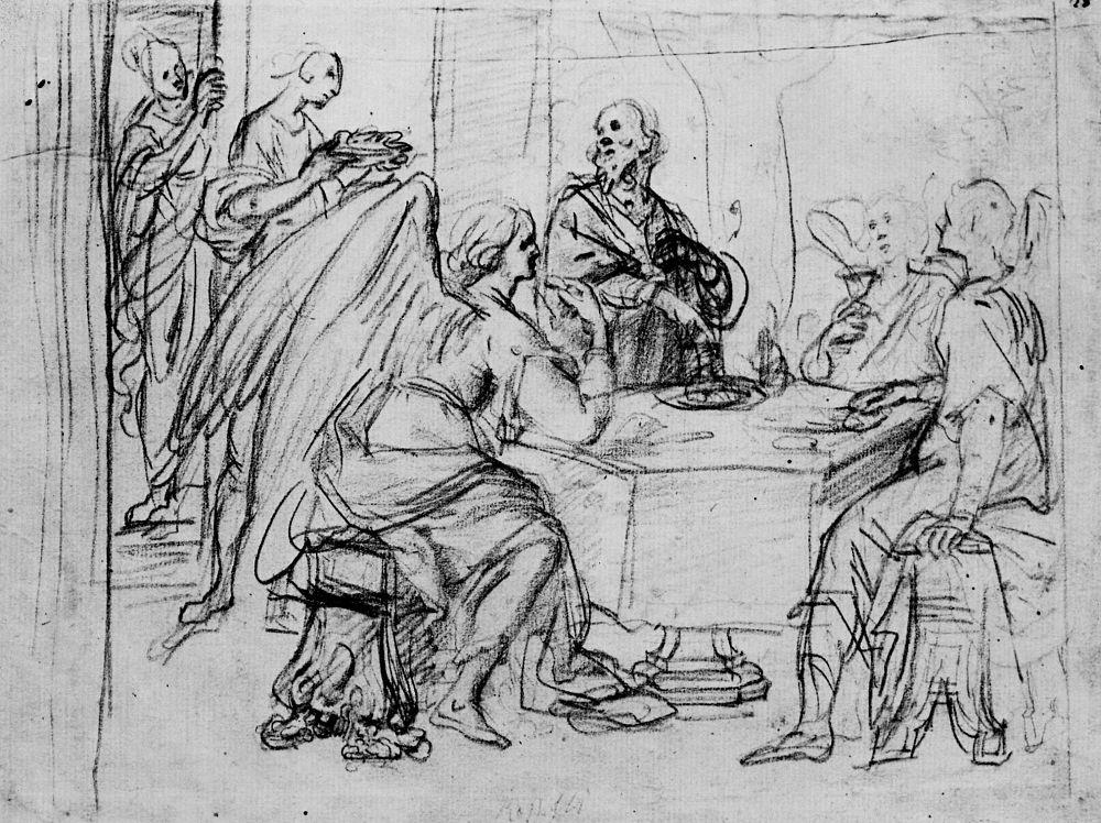 Джованни Баттиста Ванни. Авраам и три ангела