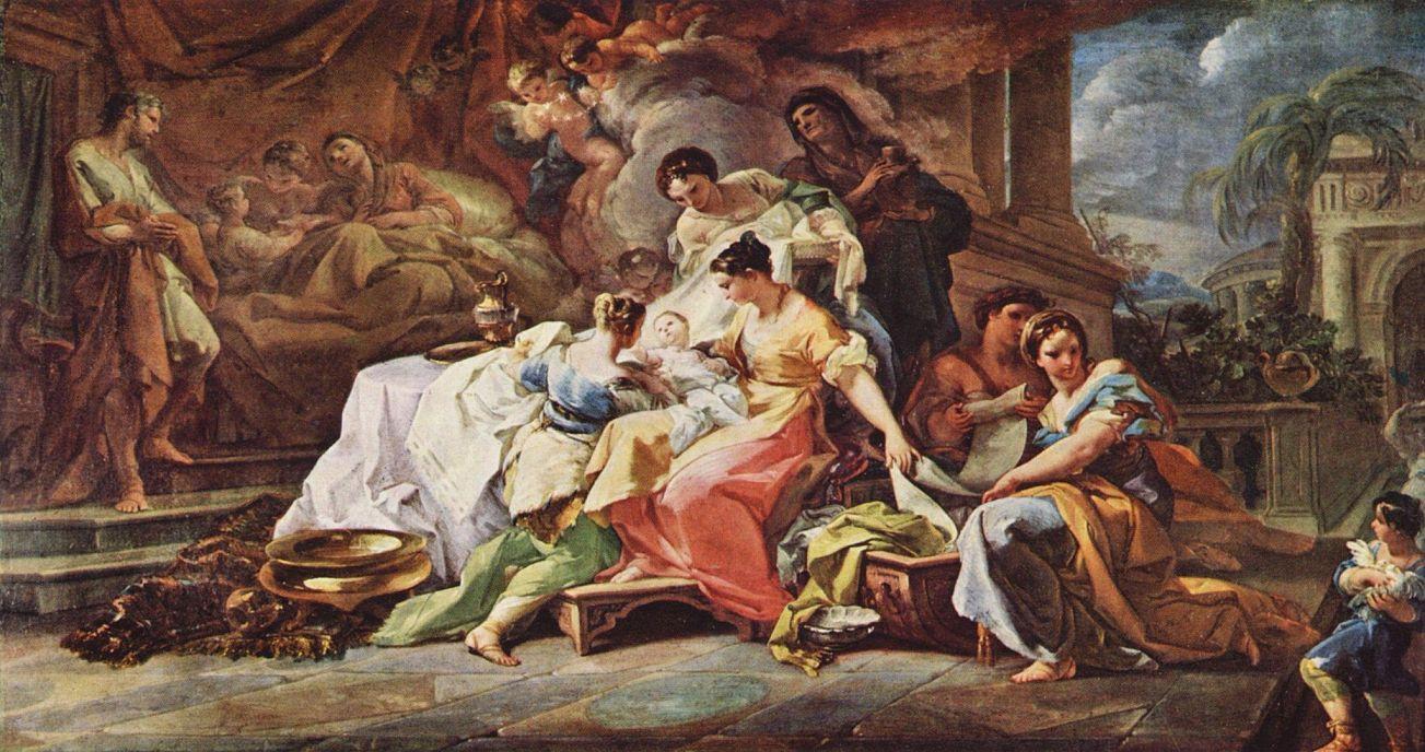 Коррадо Джанквинто. Рождение Марии