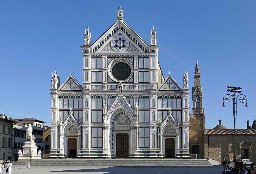 Arnolfo di Cambio. Basilica of Santa Croce