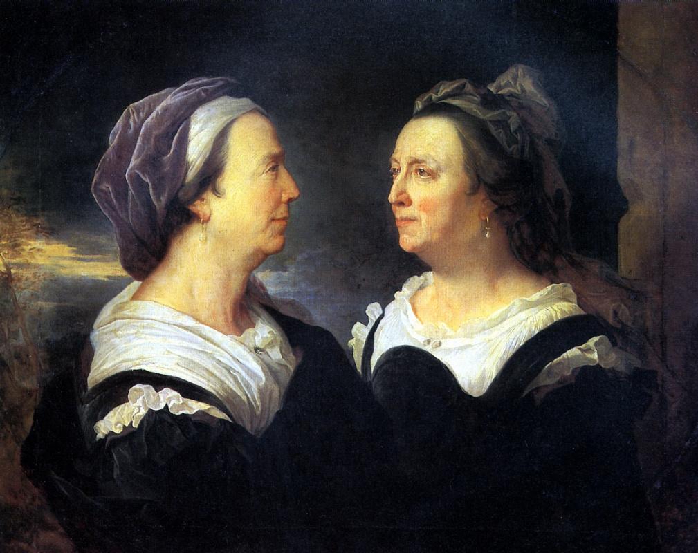 Hyacinth Rigo. Madame Rigaud mother of the artist