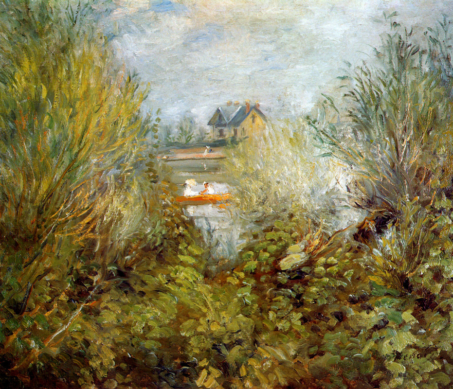 Pierre-Auguste Renoir. Seine by Argenteuil