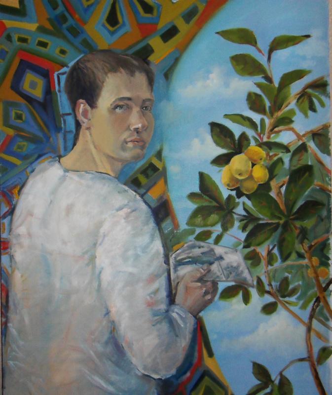 Егор Тагинцев. Автопортрет. воспоминания из дтства