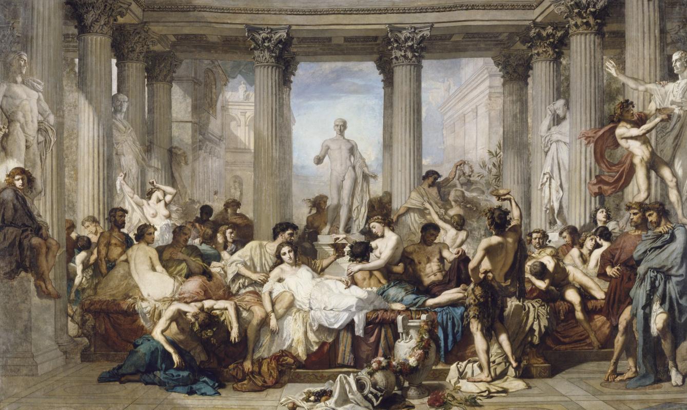 Тома Кутюр. Римляне времён упадка