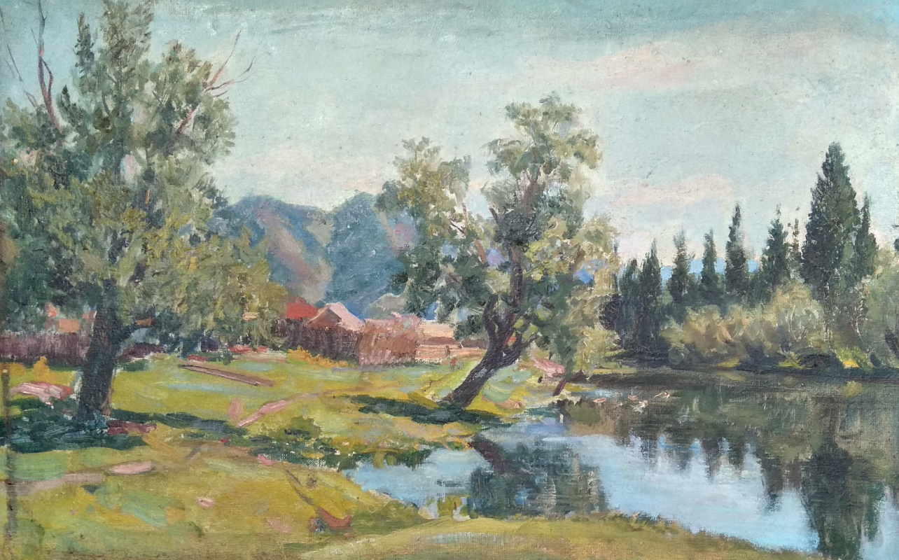 Vasily Fadeevich Demin. Without a title