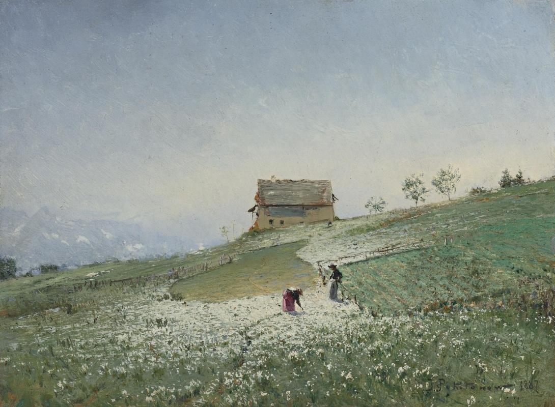 Иван Павлович Похитонов. Field work