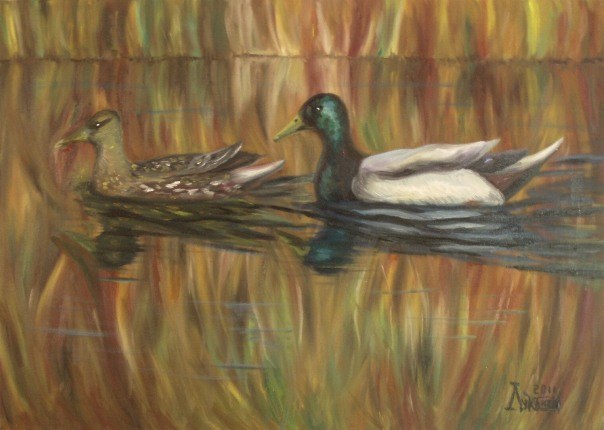 Larissa Lukaneva. Duck