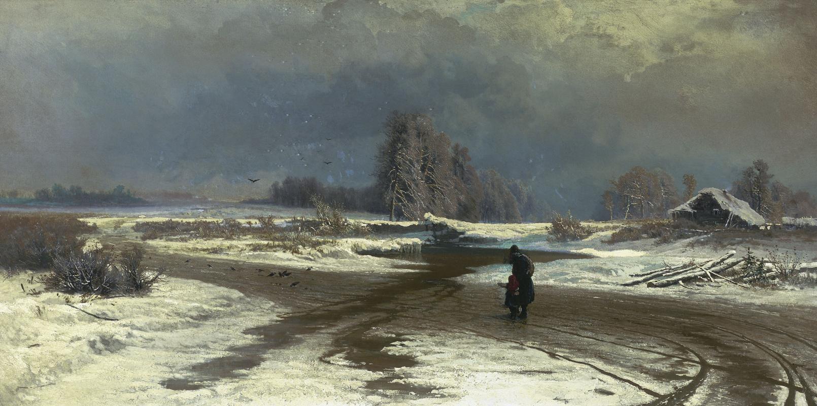 Fedor Vasilyev. The thaw