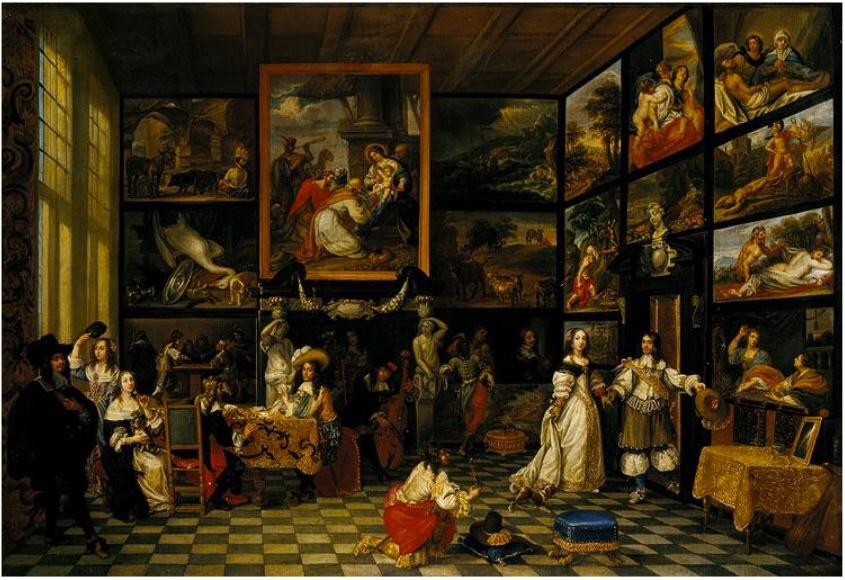 Jacob de Formentrou. Interior Gallery