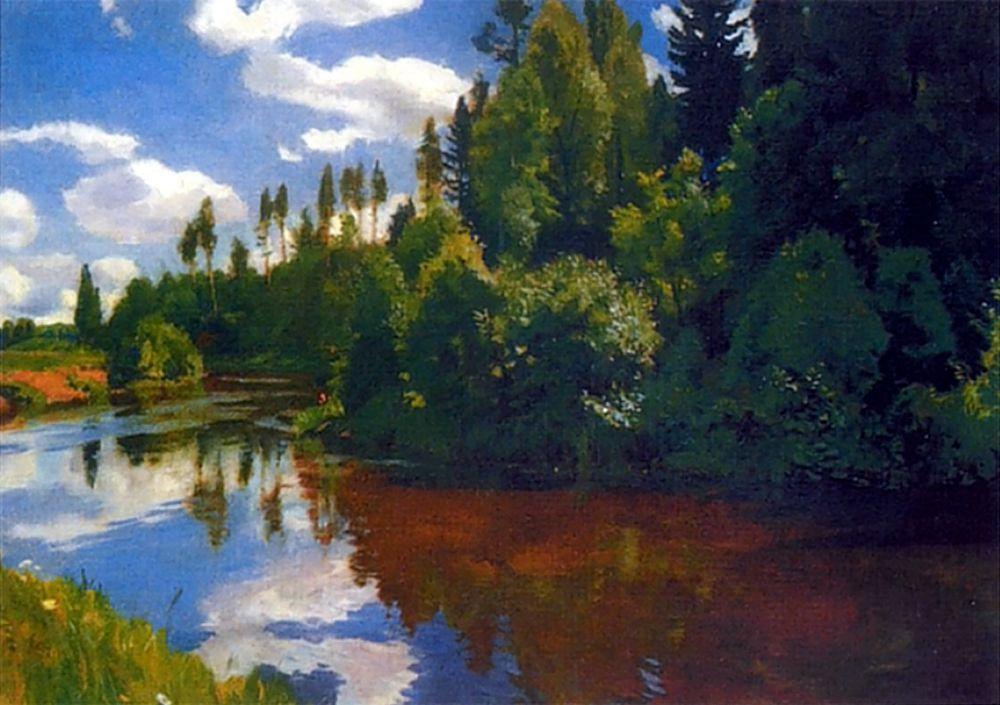 Аркадий Александрович Рылов. Устье реки Орлинки
