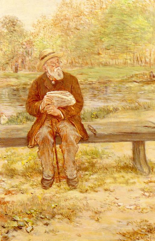 Жан-Франсуа Рафаэлли. На лавке