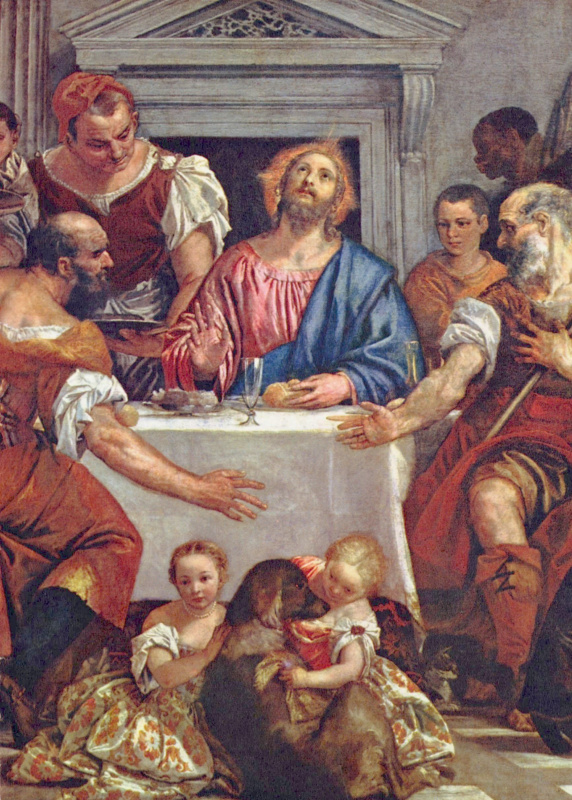 Paolo Veronese. Christ at Emmaus