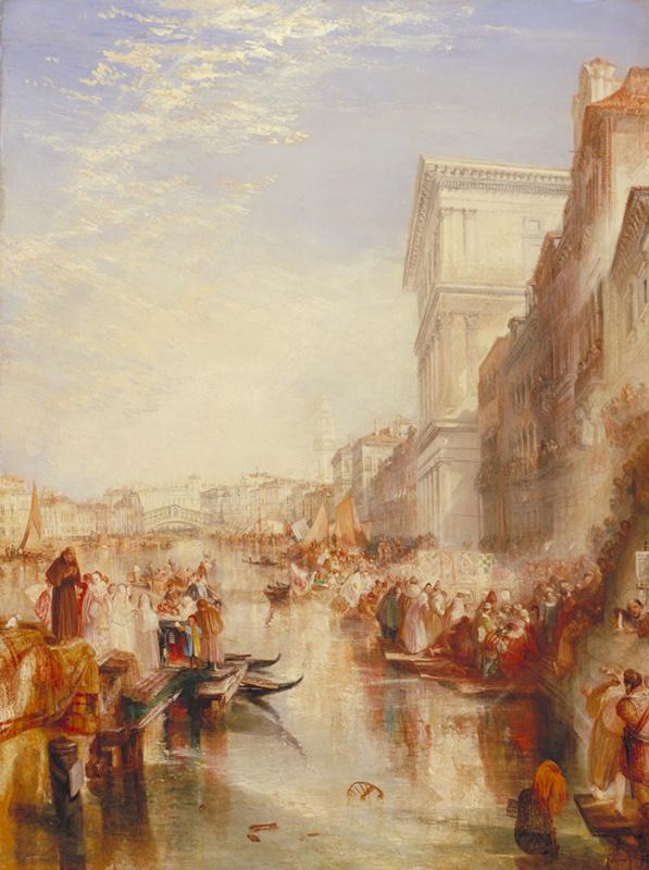 Джозеф Мэллорд Уильям Тёрнер. Гранд Канал (Уличная сценка в Венеции)