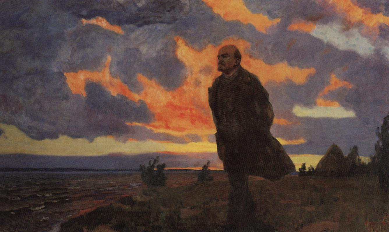 Аркадий Александрович Рылов. Ленин в Разливе