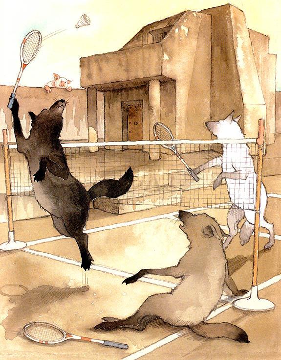 Хелен Охенбуру. Три маленьких волчонка и большой плохой свин 19