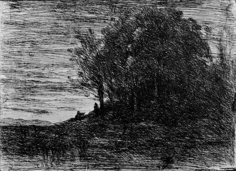 Камиль Коро. Лес отшельников