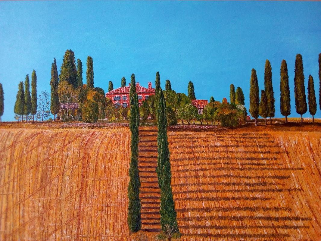 Eduard Поникаров. Tuscany