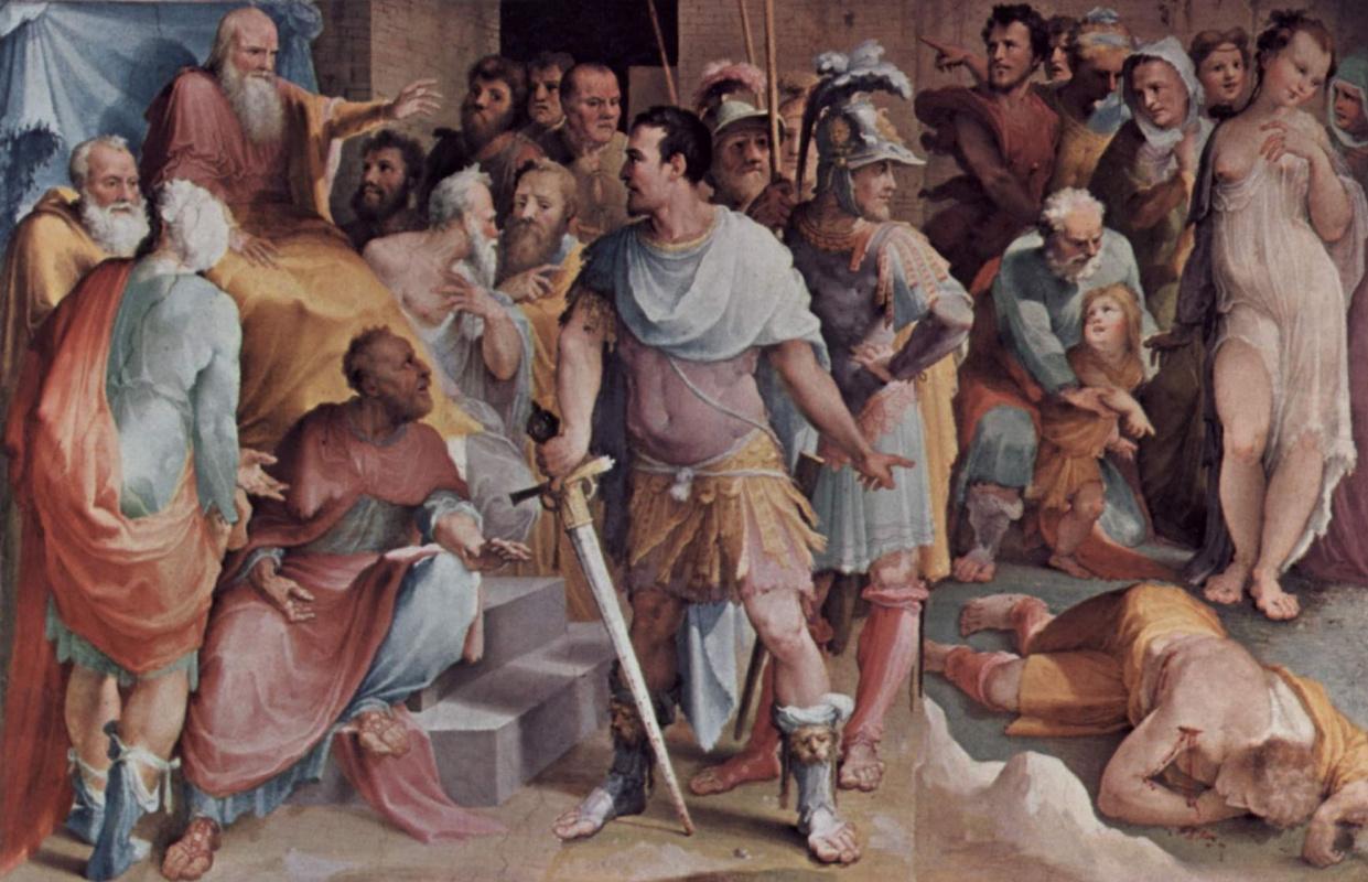 Доменико Беккафуми. Убийство Лжемелиуса