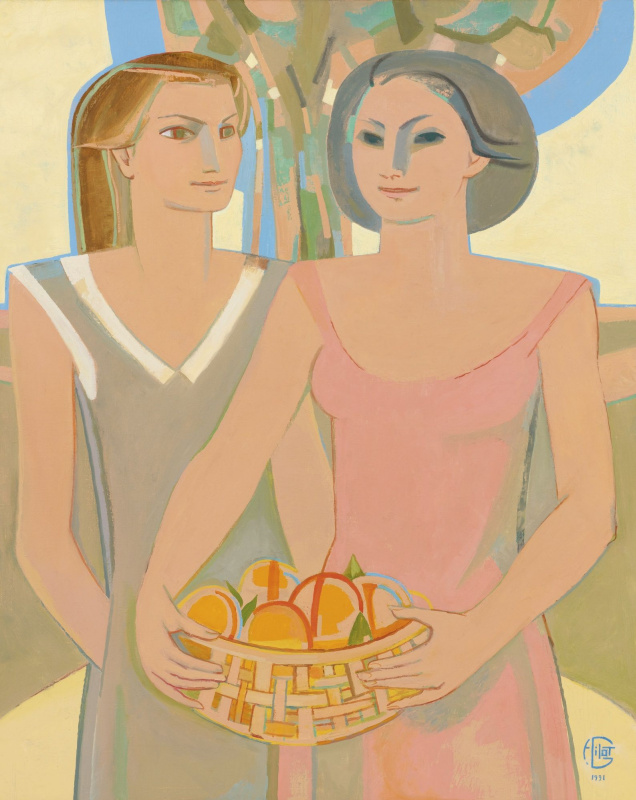 Francoise Gilo. The fruits of friendship