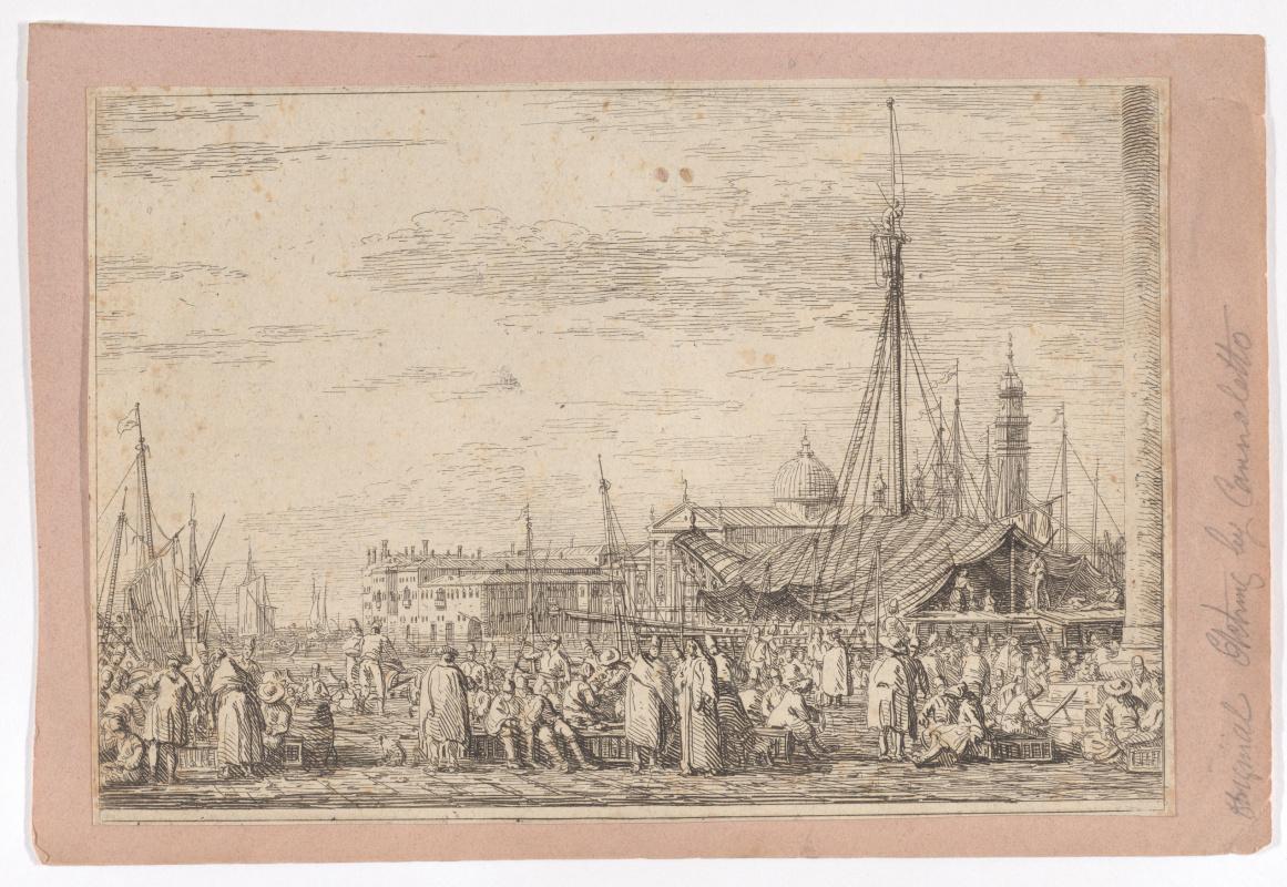 Джованни Антонио Каналь (Каналетто). Рынок в Венеции