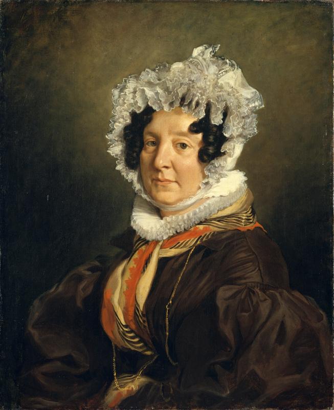 Portrait of Madame Riesener (Felicia Langra)