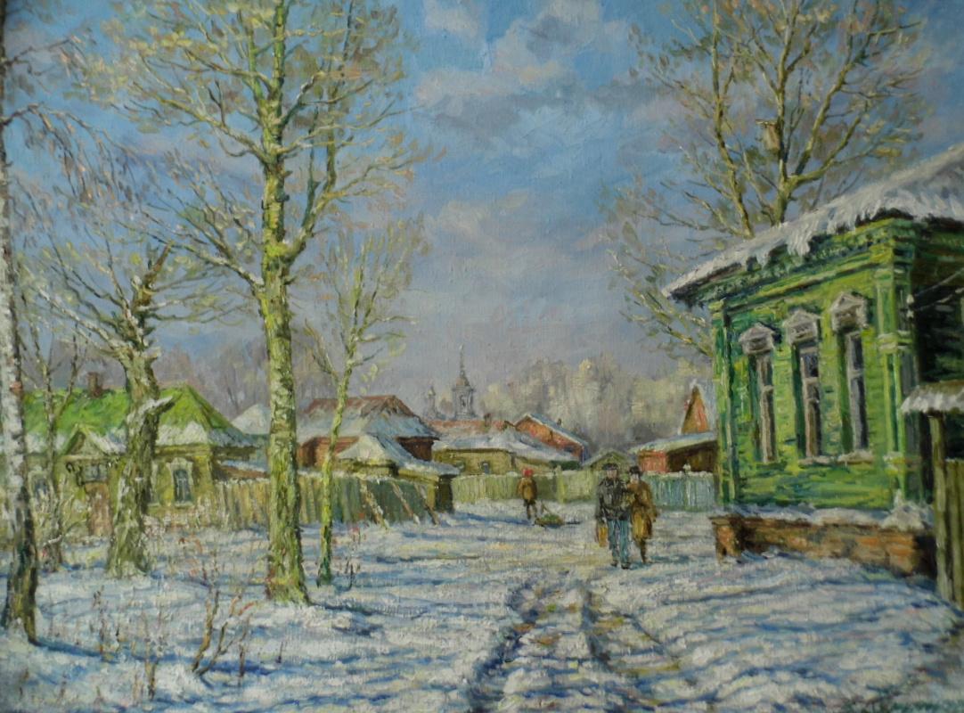 Victor Vladimirovich Kuryanov. Morning of the holiday