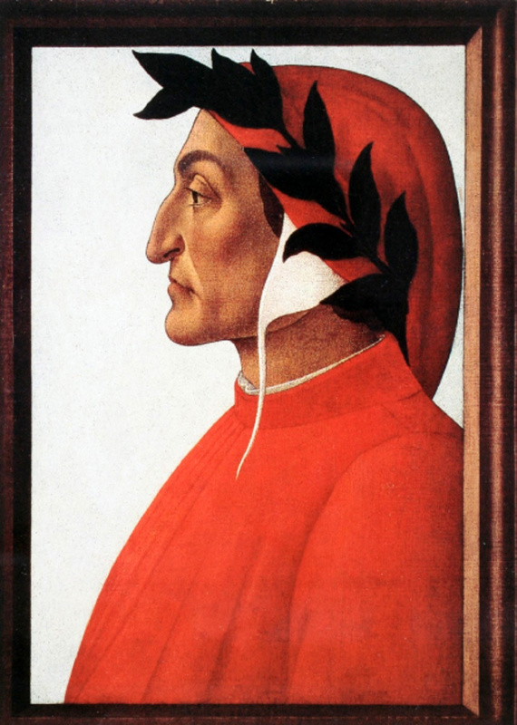Sandro Botticelli. Dante Alighieri