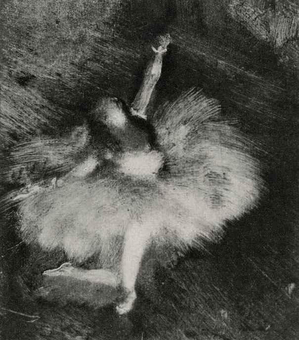 Эдгар Дега. Танцовщица в пленительном движении (Три танцовщицы. Фрагмент)